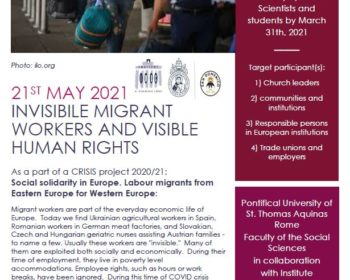 Poster Invisible Migrant Workers